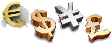 commercio valute principali valute forex