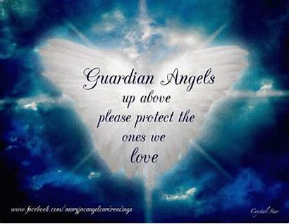 Angel Angels Guardian Quotes Protect Among Heaven