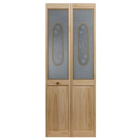 home depot glass interior doors pinecroft 36 in x 80 in frosted glass pine interior