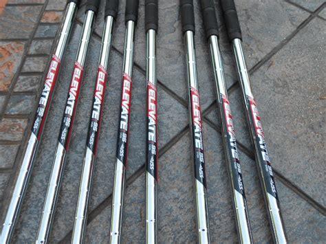 elevate shafts tt vss pxg irons gw stiff fs