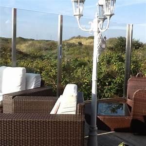 edelstahl pfosten und glashalter speziell fur den garten With französischer balkon mit metalldekoration für den garten