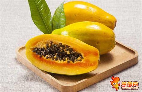 吃木瓜真能丰胸吗 木瓜怎么吃丰胸最快-美食图片-热图网