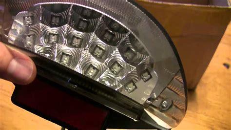 bmw motorcycle led rear tail brake replacement light oem