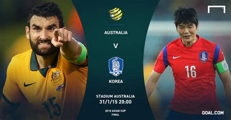 Socceroos V Korea Republic How The Asian Cup Final Will
