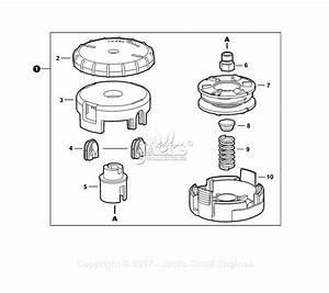 Echo Srm-266t S  N  T47714001001 - T47714999999 Parts Diagram For Trimmer Head