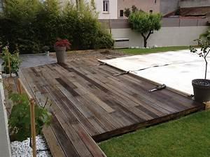 Bois Exotique Pour Terrasse : terrasse en bois exotique bangkira bankirai d gris e et ~ Dailycaller-alerts.com Idées de Décoration