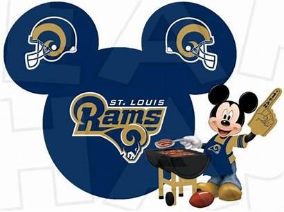 Rams Football Disney Clip Mickey Mouse Louis