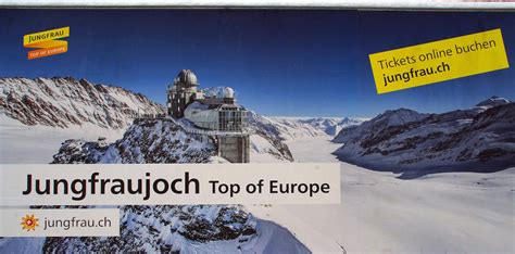 Jungfraujoch A Journey to the Top of Europe  The Aussie