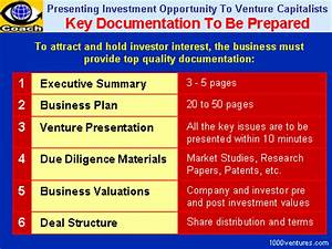 Venture financing key documents to be prepared by for Documents to be prepared