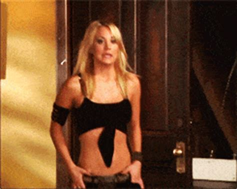 The Hottest Kaley Cuoco GIFs You'll Ever Lay Eyes On