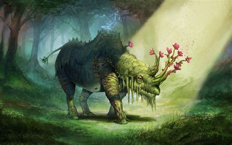 Animal Magic Wallpaper - mythical creatures wallpapers 183