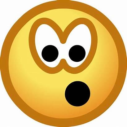 Smiley Face Surprised Emoticon Shocked Clip Sad