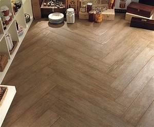 Tile Floors to Look like wood - Traditional - Living Room