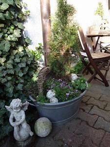 Blumenkübel Bepflanzen Vorschläge : ich liebe zinkwannen garten pinterest zinkwanne ich liebe und liebe ~ Frokenaadalensverden.com Haus und Dekorationen