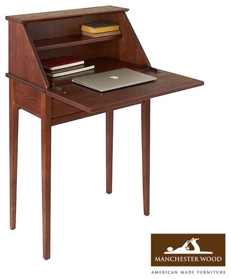 Shaker Secretary Desk By Manchester Wood Traditional Desks