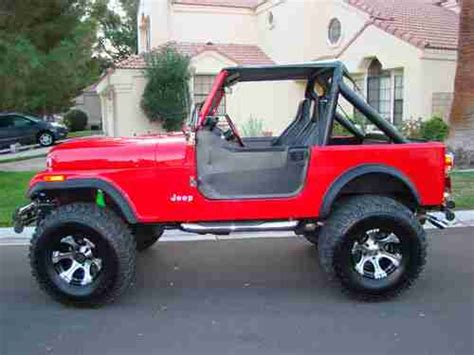 buy   jeep cj   lifted  speed convertible