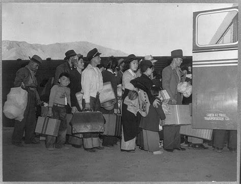 Image result for Japanese-Americans were released from detention camps.