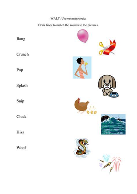 onomatopoeia by beckieboo90 teaching resources tes