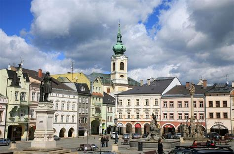 Old Town In Turnov, Czech Republic, Czechia Editorial ...