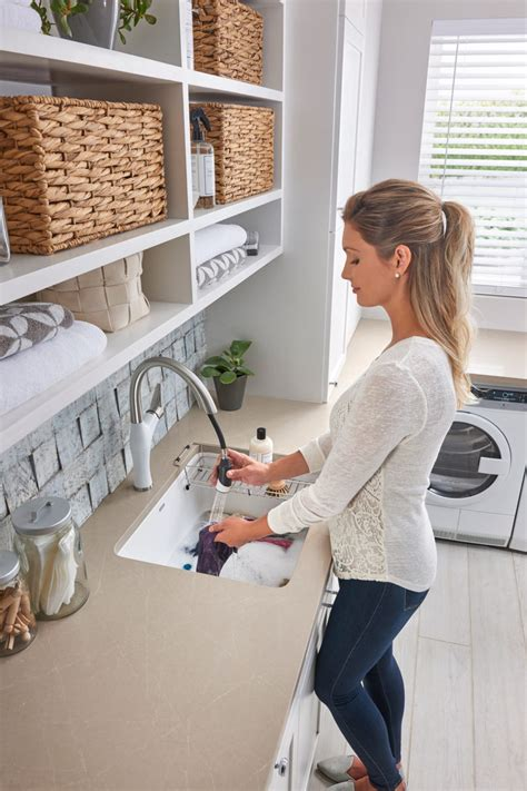 blanco liven laundry sink exploring trends and solutions in today s smaller open