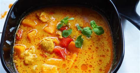Zupa Tajska z batatami jest to przepis stworzony przez ...