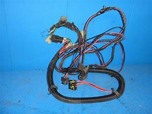 1985 C4 Corvette Bose Stereo Wiring Harness Complete Oem Excellent