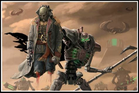 Overlord Ahhotekh Necron Mystery Lore Spikey Bits