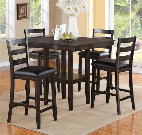 Dining Sets Awesome Counter High Table And Chair Sets Full