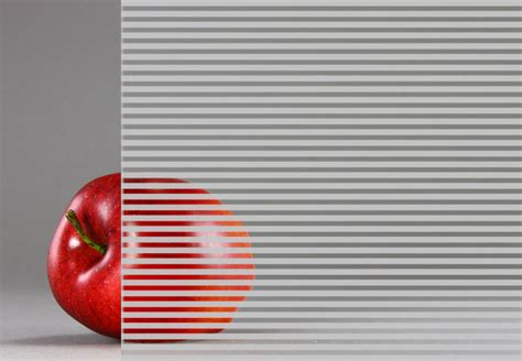 linear pattern fritted rainscreen glass bendheim