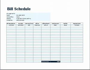 Printable bill pay checklist bill pay bill pay tracker for Car payment schedule template