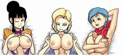 Dragon Ball Tits Boxerman Hentai Chichi Bulma