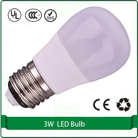 110v 120v 220v e26 e27 led bulb light 3w low heat no uv