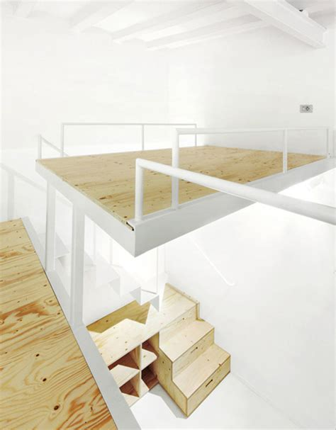 split level bedroom split level loft suspended bedroom stair storage