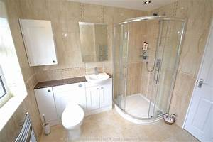 Fitted Bathroom with knock through in Banstead by our