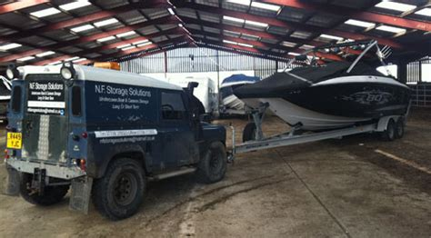 Boat Storage North Wales by Undercover Boat Storage Abersoch Undercover Caravan