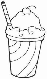 Coloring Pages Food Drink Summer Ice Cream Adult Cocktail Kitchen Items Stuff Colouring Drawings Printable Print Junk Festmenyek Boegrek Tervek sketch template