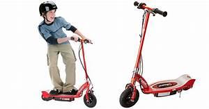 Amazon Prime  Razor E100 Electric Scooter Only  74 98