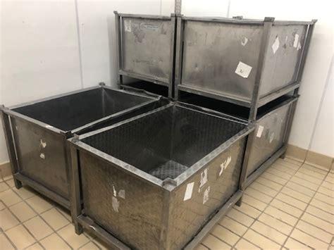 contenitori in acciaio per alimenti inox per alimenti contenitori vasche veneto varie