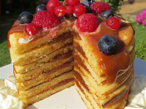 tortitas americanas de desayuno