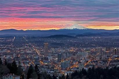 Portland Oregon 4k Wallpapers Sunrise Desktop 1080p