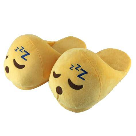 buyer house indoor warm emoji slippers winter cotton plush slipper