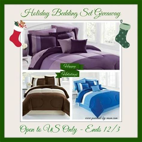 brylane home bedding brylane home bedding set for the holidays giveaway