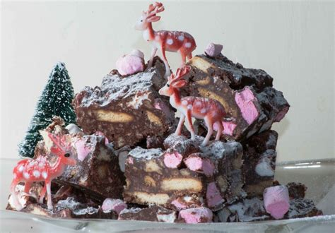 christmas rocky road woodend cookery