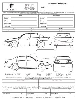 vehicle inspection form template vehicle inspection form template best template idea