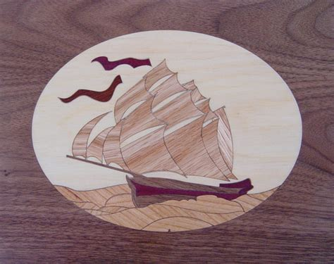 marquetry project kit niagara