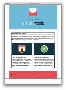Build an html email template from scratch for Making an email template