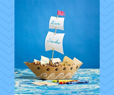 Mayflower Boat Craft by Expert Thanksgiving Mayflower Diy Craft