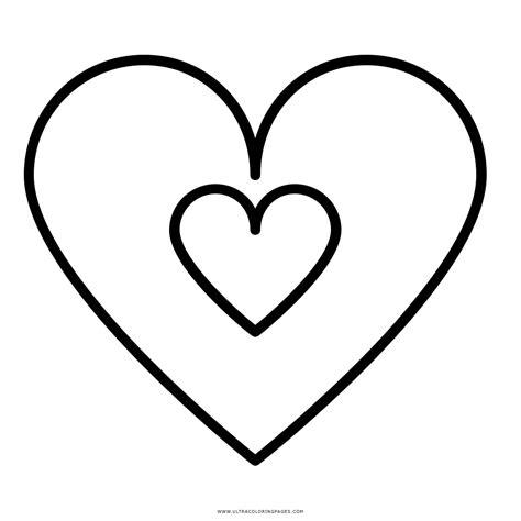 disegno cuore da stare e colorare doppio cuore disegni da colorare ultra coloring pages
