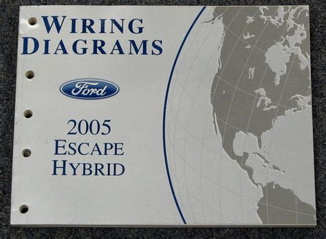 ford escape hybrid wiring diagram service manual ebay