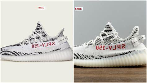 Don?t Get Got: Fake Adidas Yeezy Boost 350 V2 Zebra